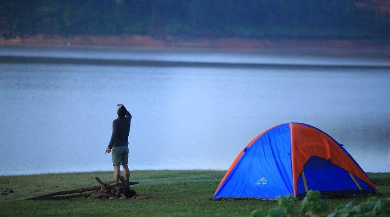 cắm trại làng vân