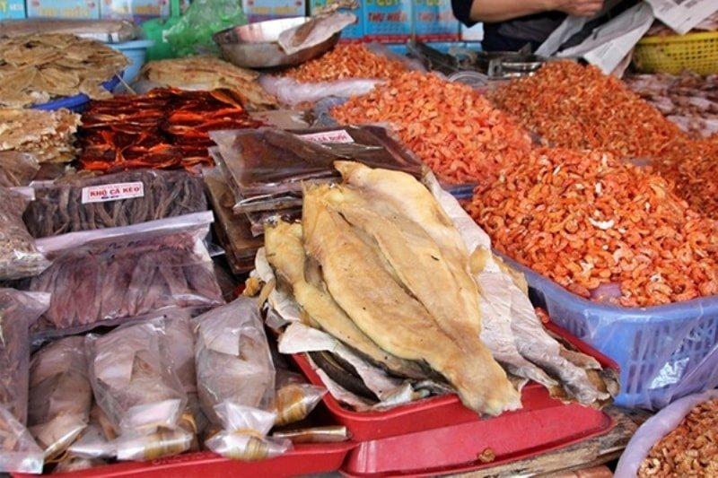 chợ đặc sản Đà Nẵng