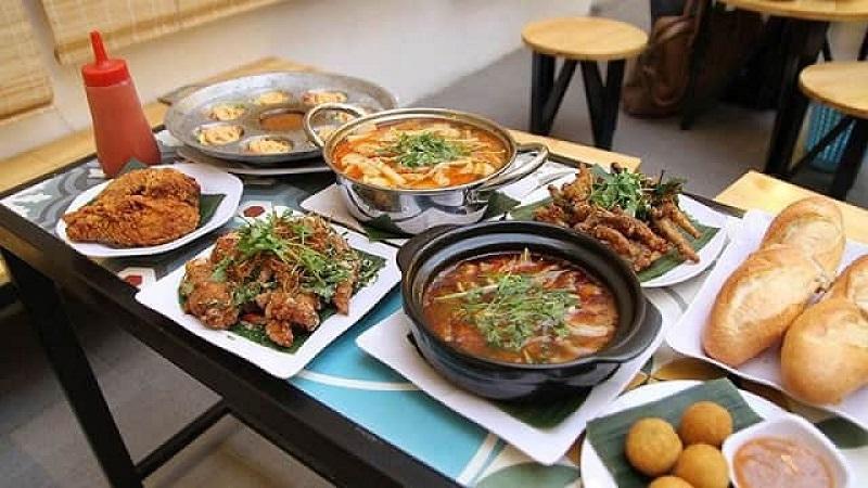 con đường ẩm thực tại đà nẵng
