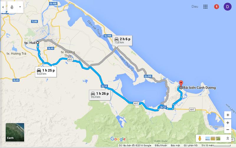 đường đến biển tân cảnh dương