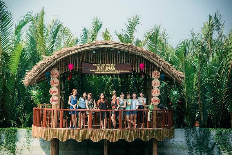 kinh nghiệm ăn uống ở rừng dừa bảy mẫu