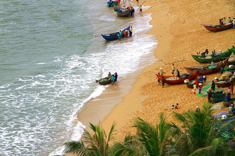team building ở vịnh cát vàng đà nẵng