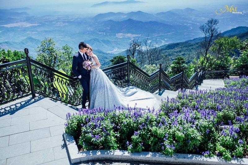 chụp ảnh cưới ở Bà Nà Hill