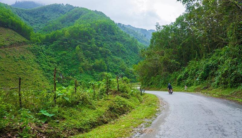 đường đến suối Hoa Đà Nẵng