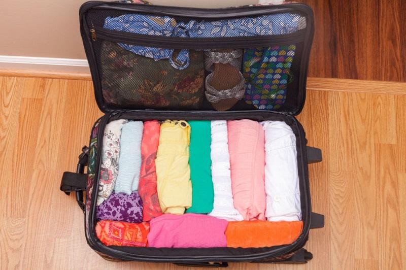 sắp xếp hành lý