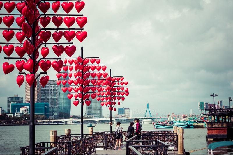 cầu tình yêu Đà Nẵng